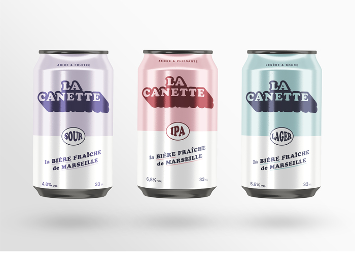 La Canette beer cans 2