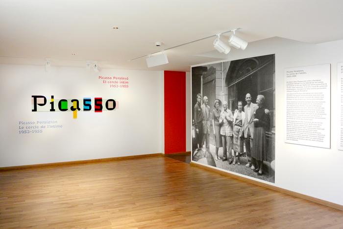 Picasso Perpignan, le cercle de l'intime, 1953–1955 1