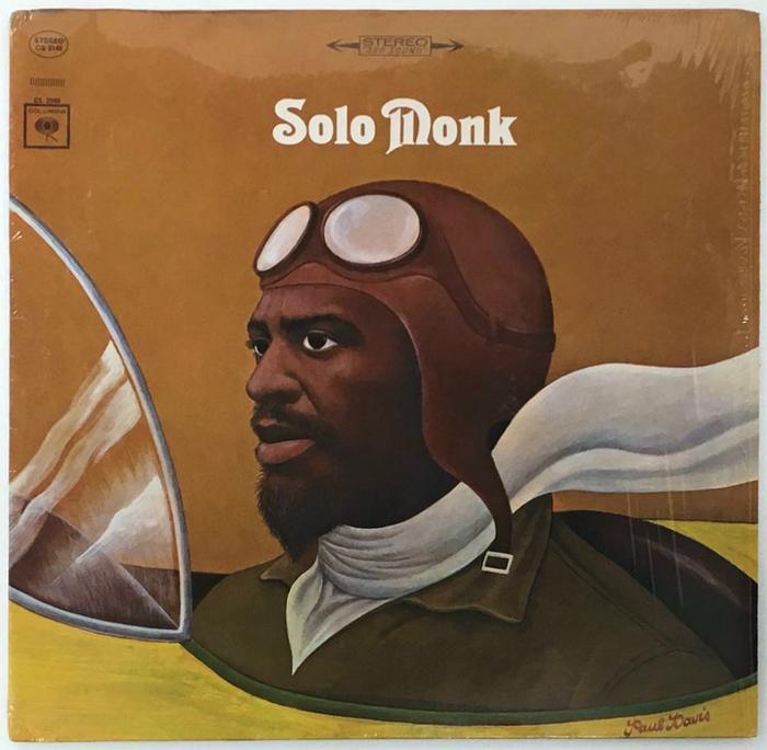Thelonious Monk – Solo Monk album art