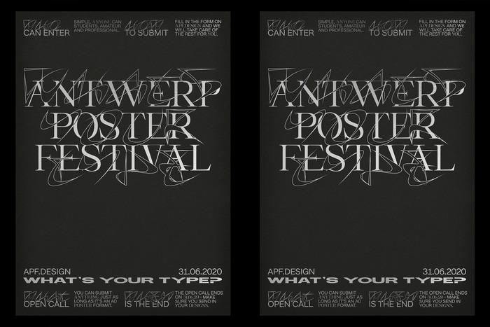 Antwerp Poster Festival 2020 1