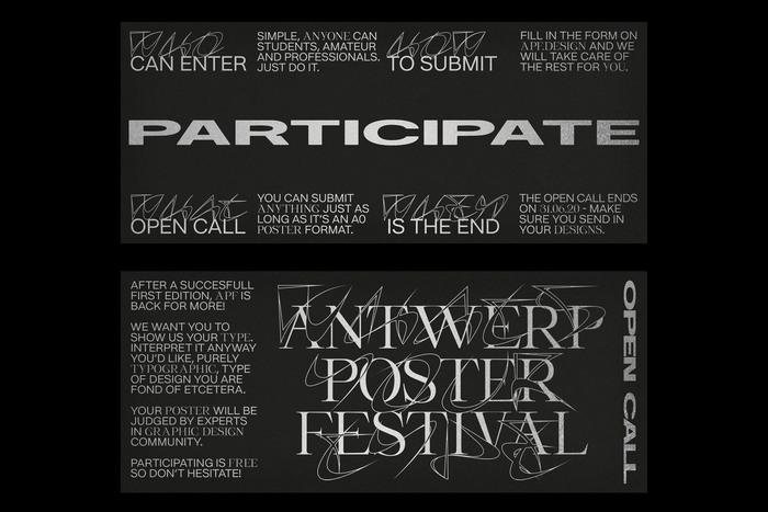 Antwerp Poster Festival 2020 5