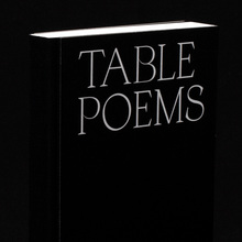 <cite>Table Poems</cite>