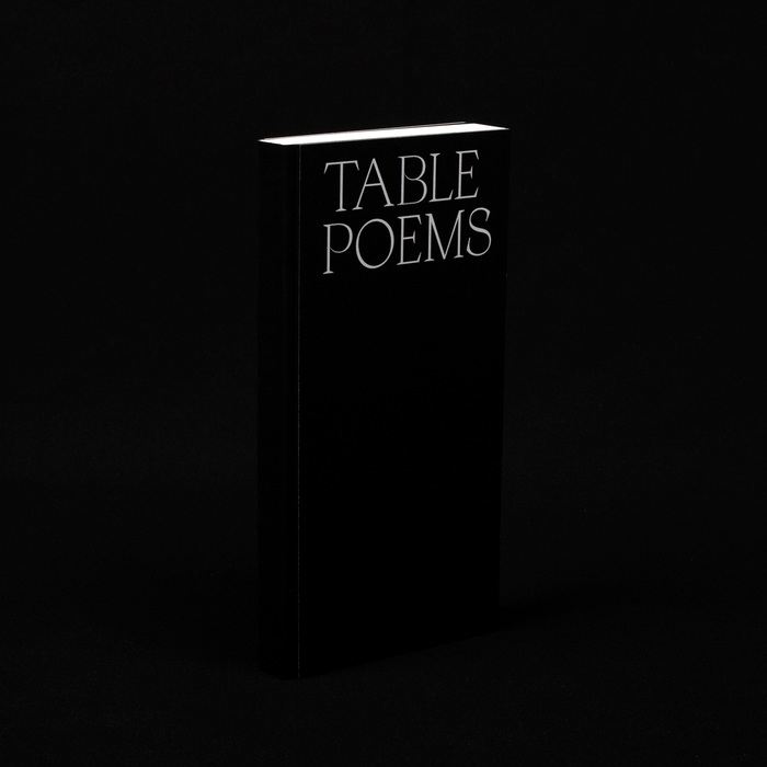 Table Poems 1