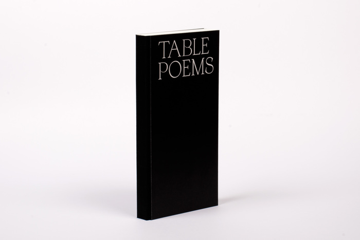 Table Poems 6