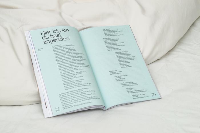 """Die Epilog, issue 9: """"Das Leben ist hart — Thema: Zärtlichkeit"""" 4"""