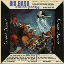 Various Artists – <cite>Big Band Dance Party</cite> album art