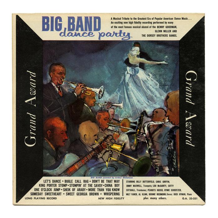 Various Artists – Big Band Dance Party album art