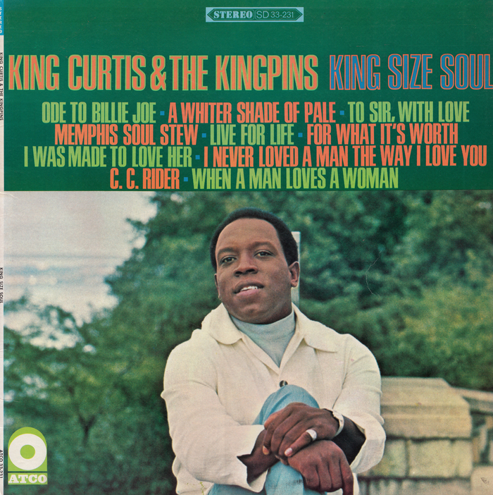 King Curtis & The Kingpins – King Size Soul album art