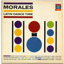 Noro Morales – <cite>Latin Dance Time</cite> album art