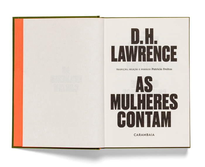 As mulheres contam by D.H. Lawrence 4