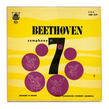 Vienna Tonkünstler Symphony Orchestra – <cite>Beethoven Symphony #7</cite> album art