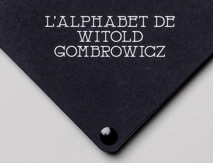 L'Alphabet de Witold Gombrowicz 4