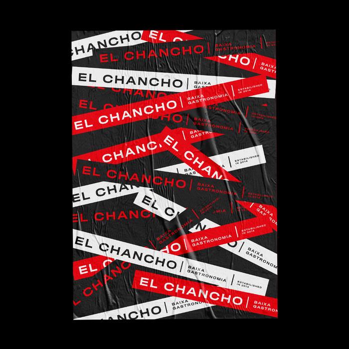 El Chancho visual identity 5