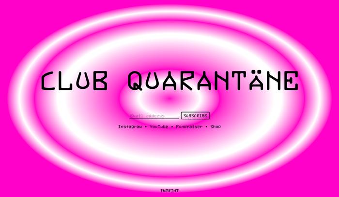 Club Quarantäne 1