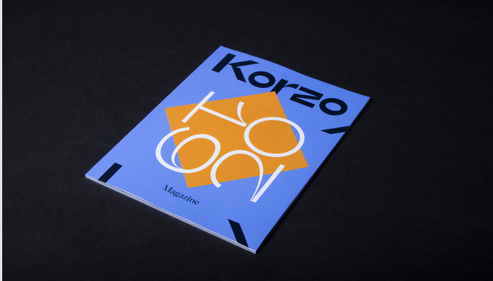 Korzo Theater visual identity 1