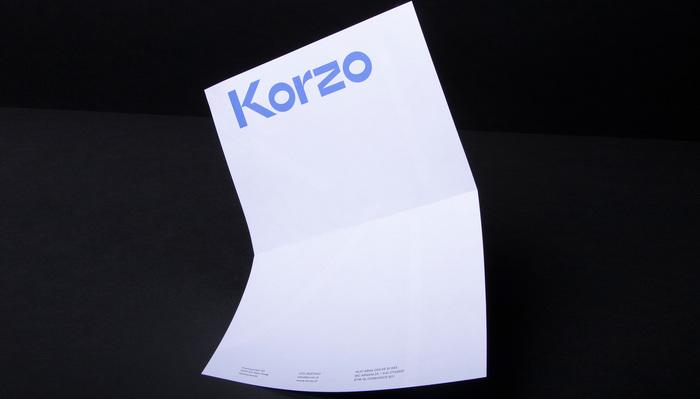Korzo Theater visual identity 3