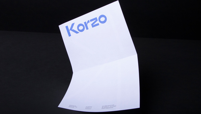 Korzo Theater visual identity 3