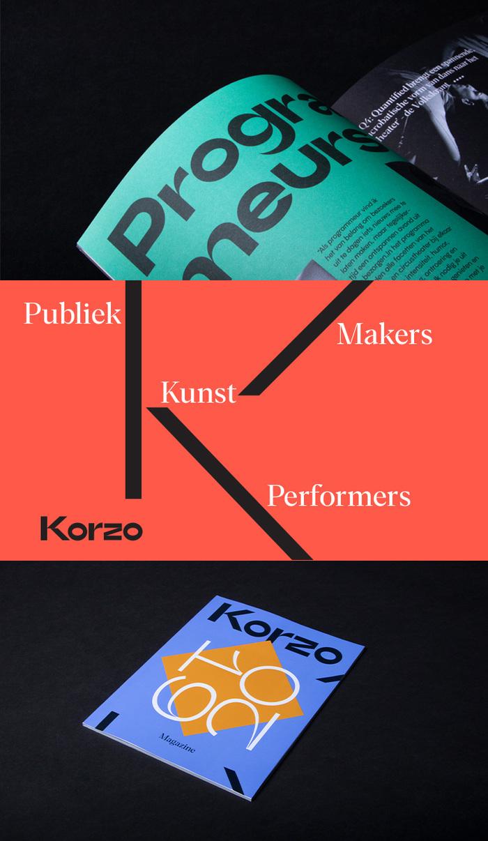 Korzo Theater visual identity 6