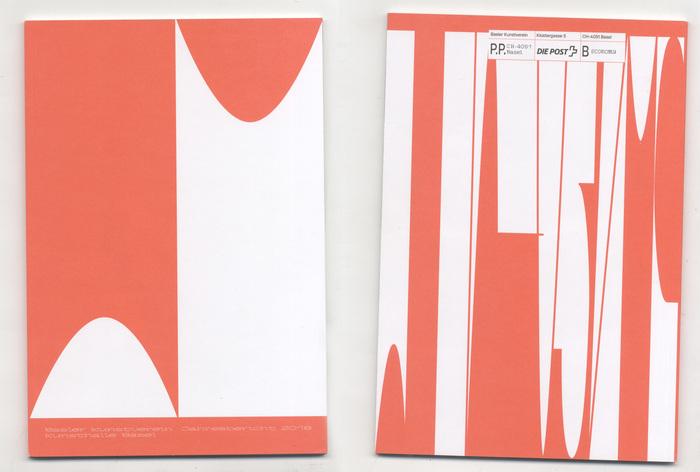 Basel Kunstverein Kunsthalle annual report 2018 1