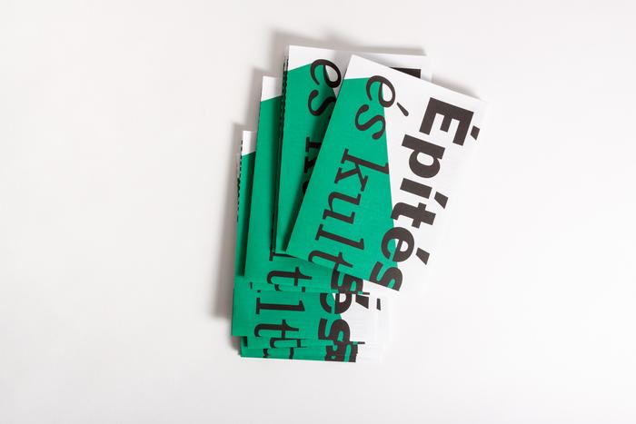 Építészet és kultúra / Természet és építészet poster/brochure 8