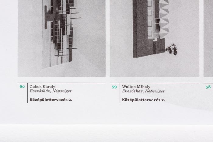 Építészet és kultúra / Természet és építészet poster/brochure 4
