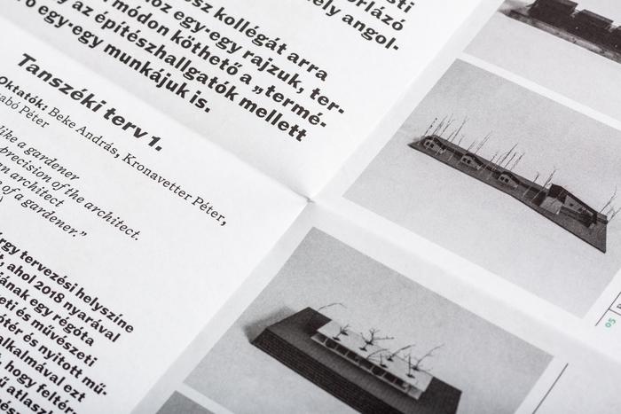 Építészet és kultúra / Természet és építészet poster/brochure 9