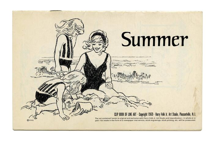"""Summer"" (No. 507) ft. . Illustration by Tom Sawyer."