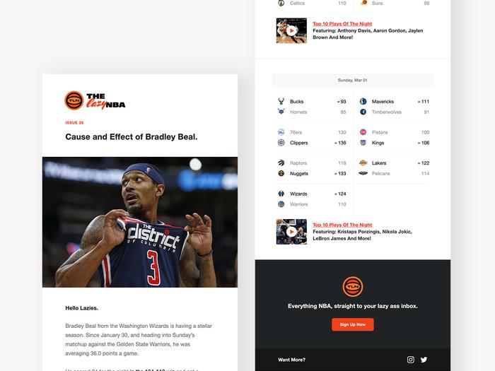 The lazy NBA newsletter 4