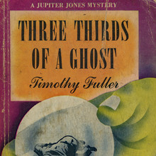 <cite>Three Thirds of a Ghost</cite> by Timothy Fuller