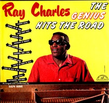 Ray Charles – <cite>The Genius Hits The Road</cite> album art