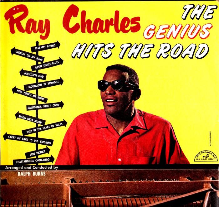 Ray Charles – The Genius Hits The Road album art