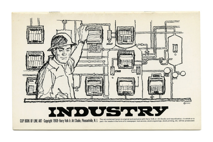 """""""Industry"""" (No. 511) ft. . Illustration by Tom Sawyer."""