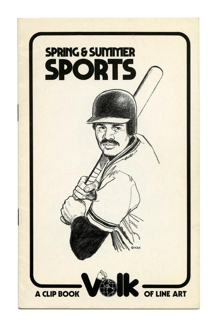 """Spring & Summer Sports"" (No. 699) ft. . Illustration by Tom Sawyer."