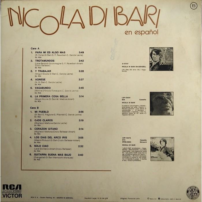 Nicola Di Bari – En Español 2
