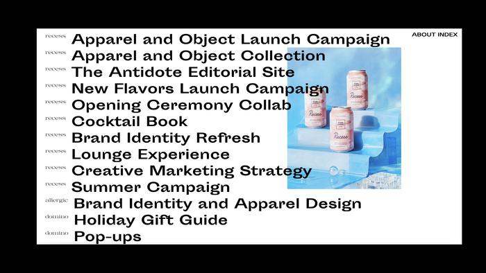 Phuong Nguyen portfolio website 3