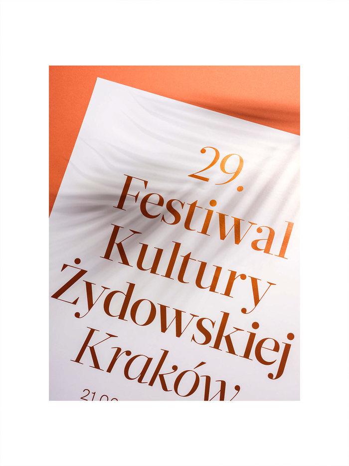 29th Jewish Culture Festival Krakow 2