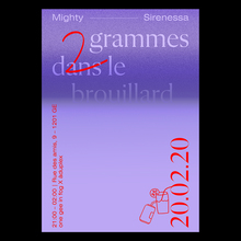 <cite>2 grammes dans le brouillard</cite> by One Gee in Fog