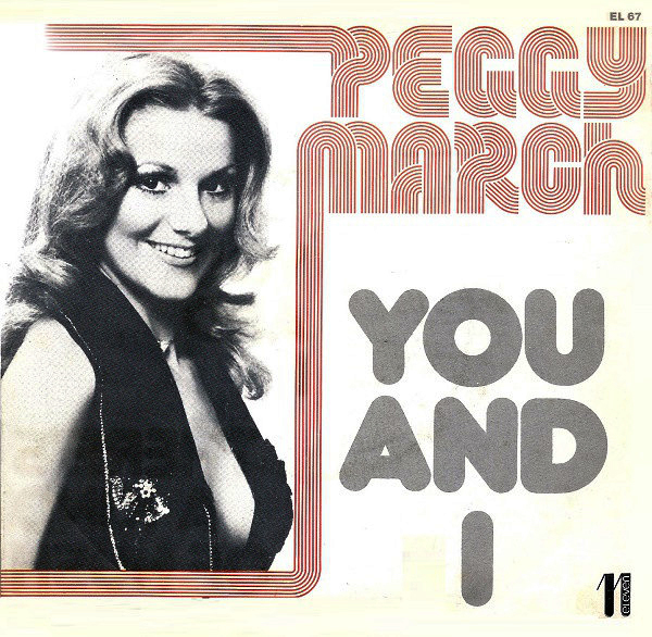 "Peggy March – ""You and I"" Italian single sleeve 1"