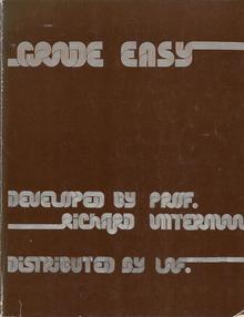<cite>Grade Easy</cite> by Richard Untermann