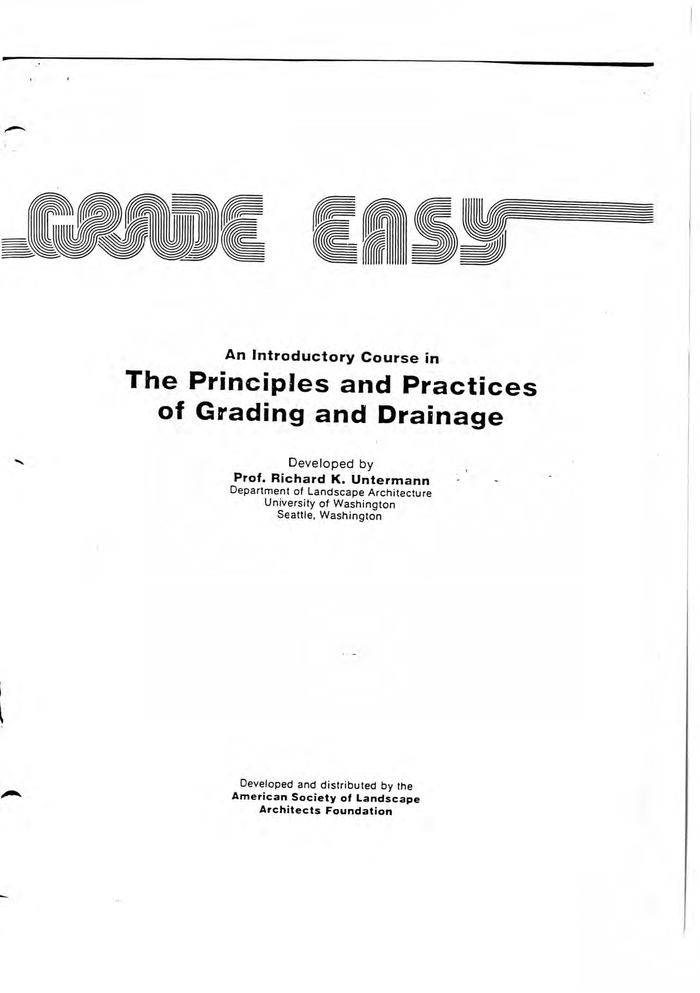 Title page featuring Stripes with  and .