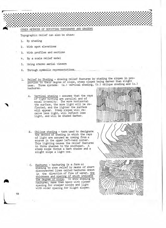Letratone textures and architectural patters were used for marking chapter beginnings as well as for illustrations. Letratone was Letraset's brand name for screentone, a technique for applying textures and shades to drawings, used as an alternative to hatching, introduced in 1966. Watch a demo on how to use Letratone on YouTube.