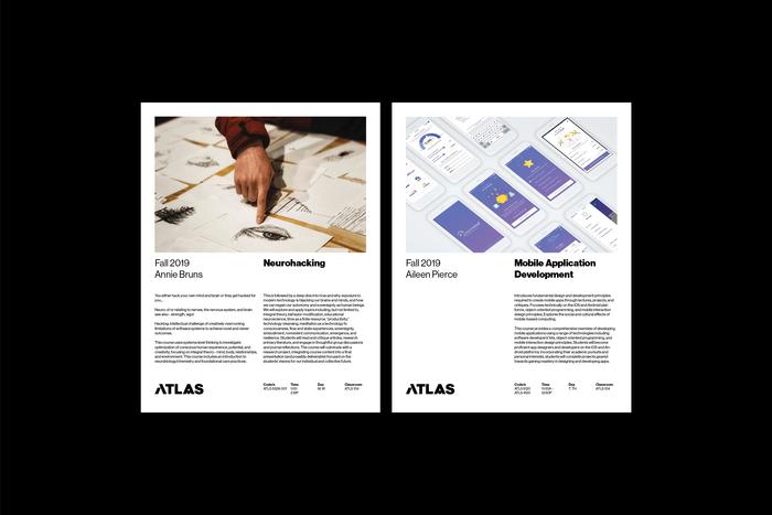 ATLAS Institute visual identity 6