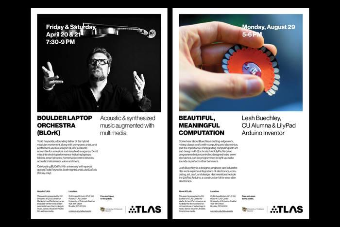 ATLAS Institute visual identity 7
