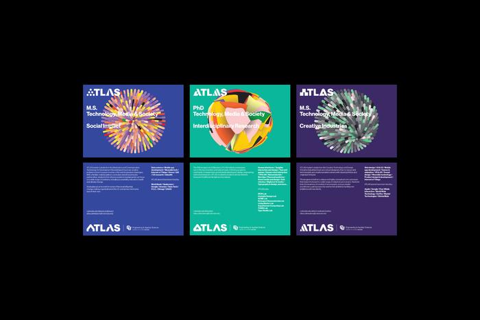 ATLAS Institute visual identity 8
