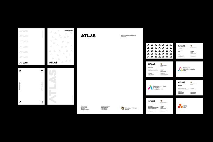 ATLAS Institute visual identity 9