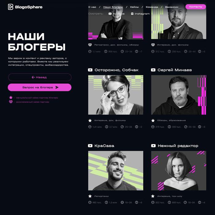 BlogoSphere website 5