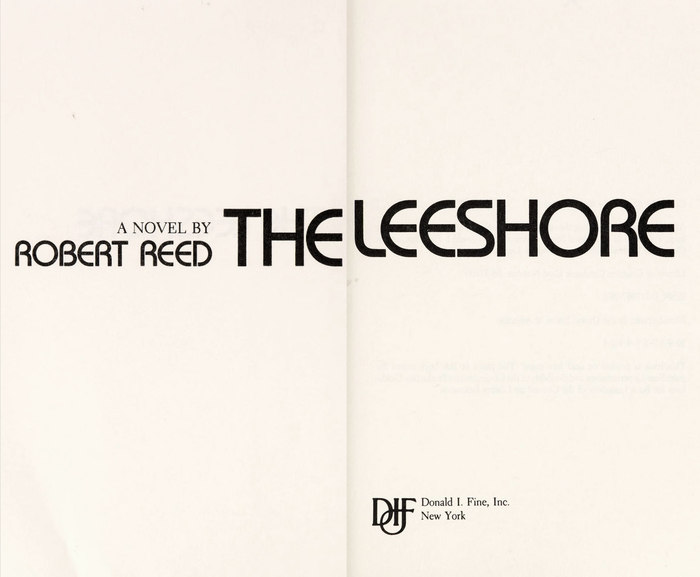 The title page used a typeface that is influenced by Herbert Bayer's Universal-Alfabet (like Cut-In) and was designed by Ed Benguiat (like Benguiat Gothic): .