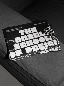 The Basel School of Design poster/flyer
