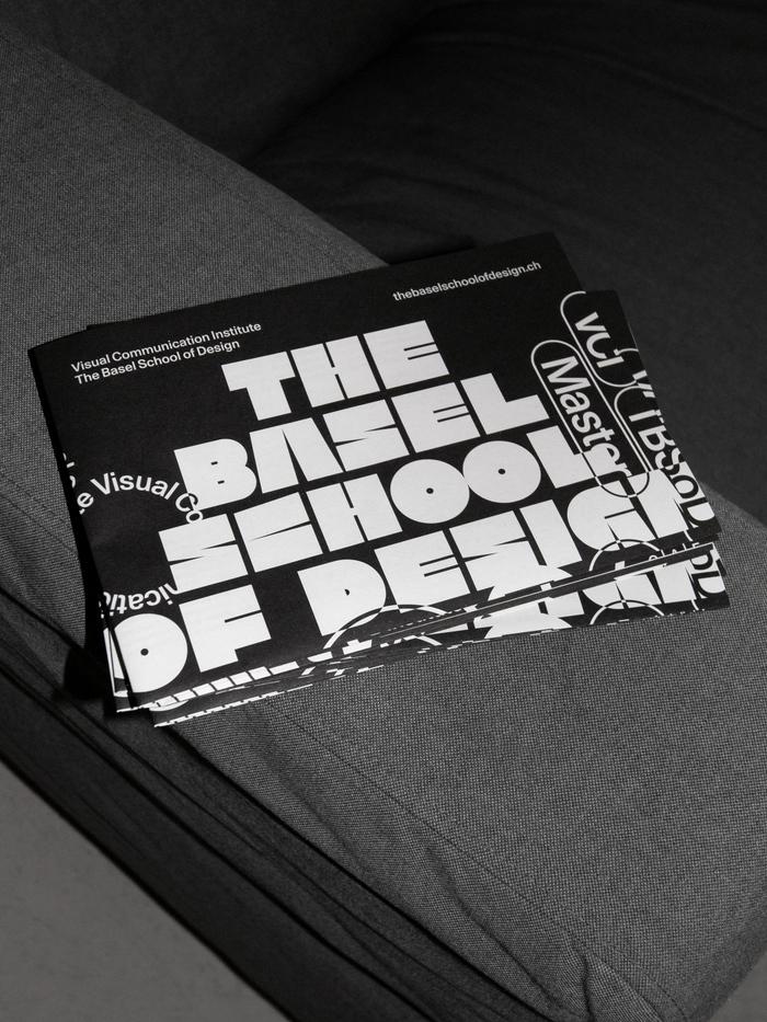 The Basel School of Design poster/flyer 1