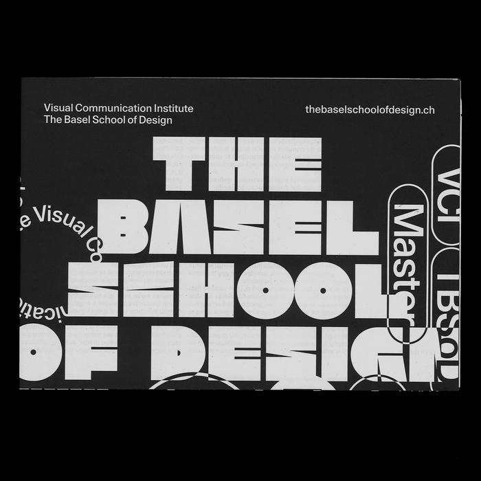 The Basel School of Design poster/flyer 2